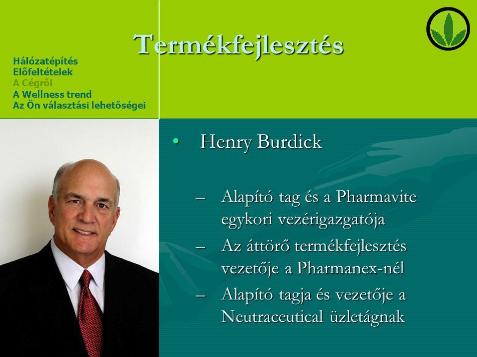 Termékfejlesztés Henry Burdick