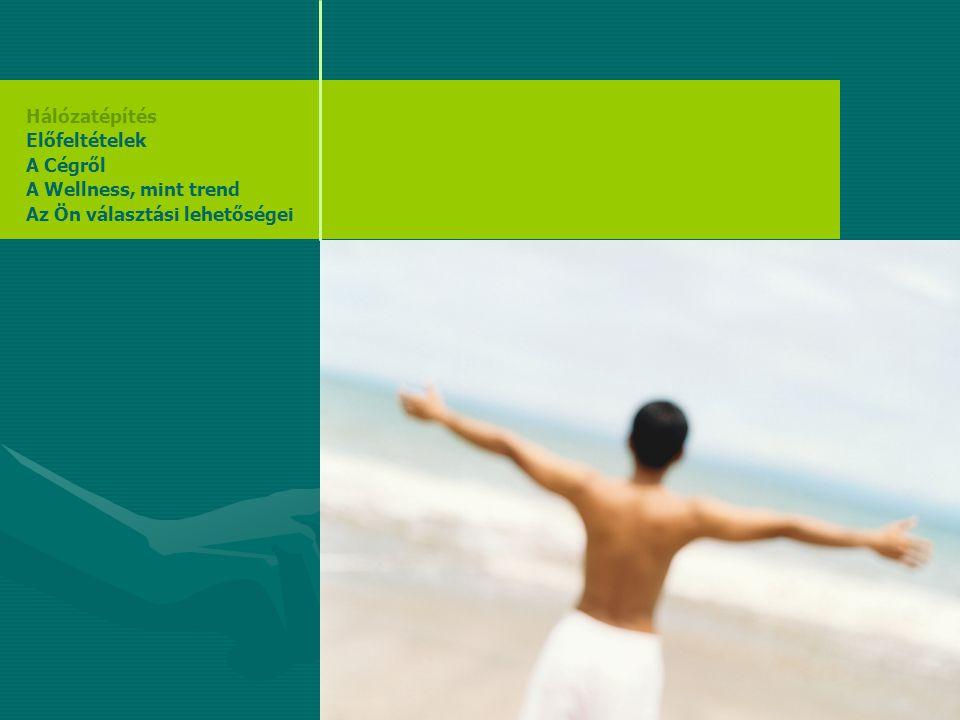 Hálózatépítés Előfeltételek A Cégről A Wellness, mint trend Az Ön választási lehetőségei