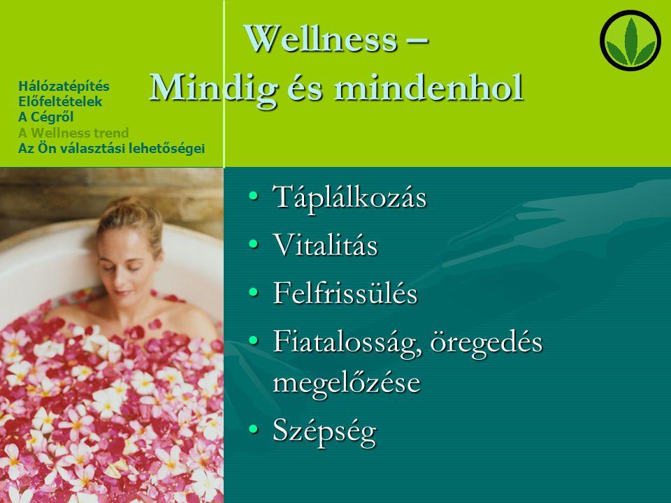 Wellness – Mindig és mindenhol