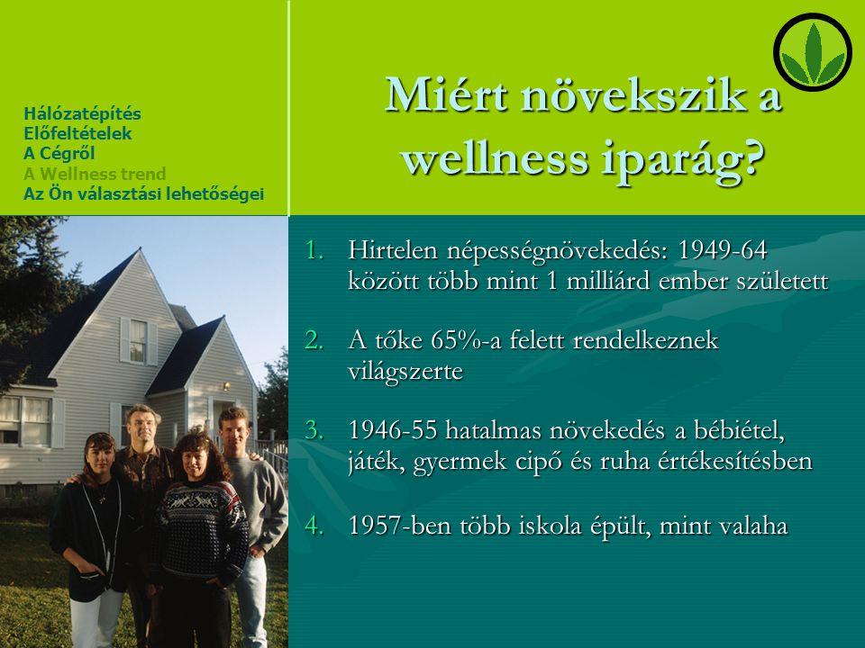 Miért növekszik a wellness iparág
