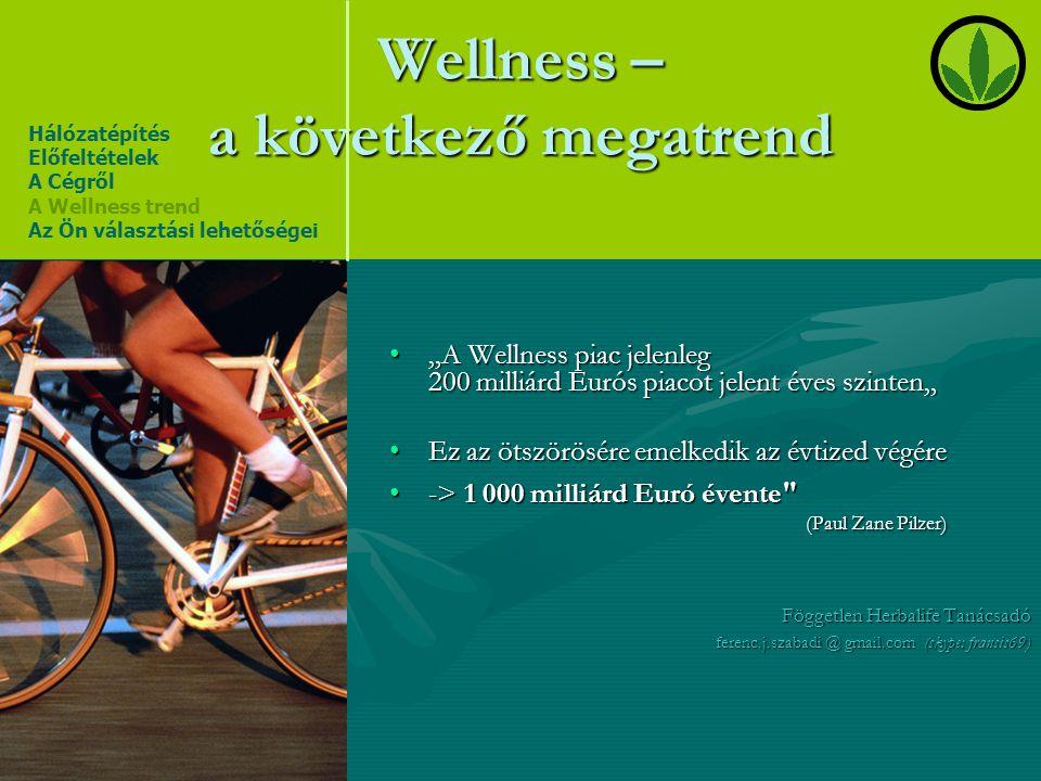 Wellness – a következő megatrend