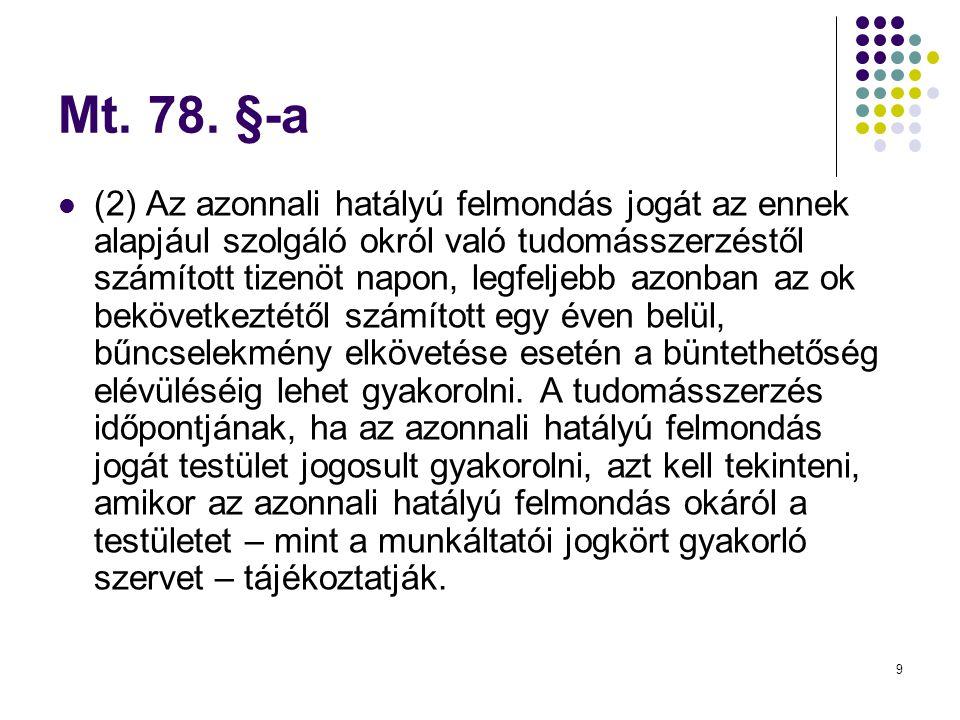 Mt. 78. §-a