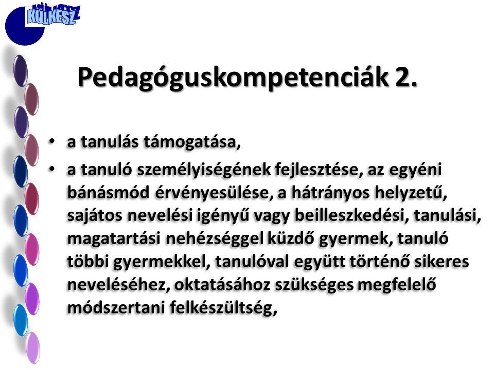 Pedagóguskompetenciák 2.