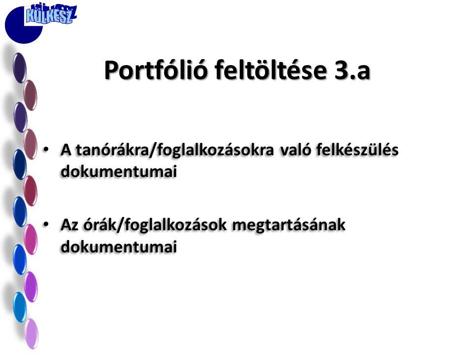 Portfólió feltöltése 3.a