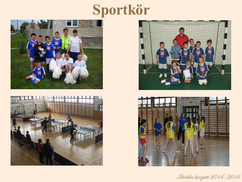 Sportkör Iskolába hívogató 2014/2015