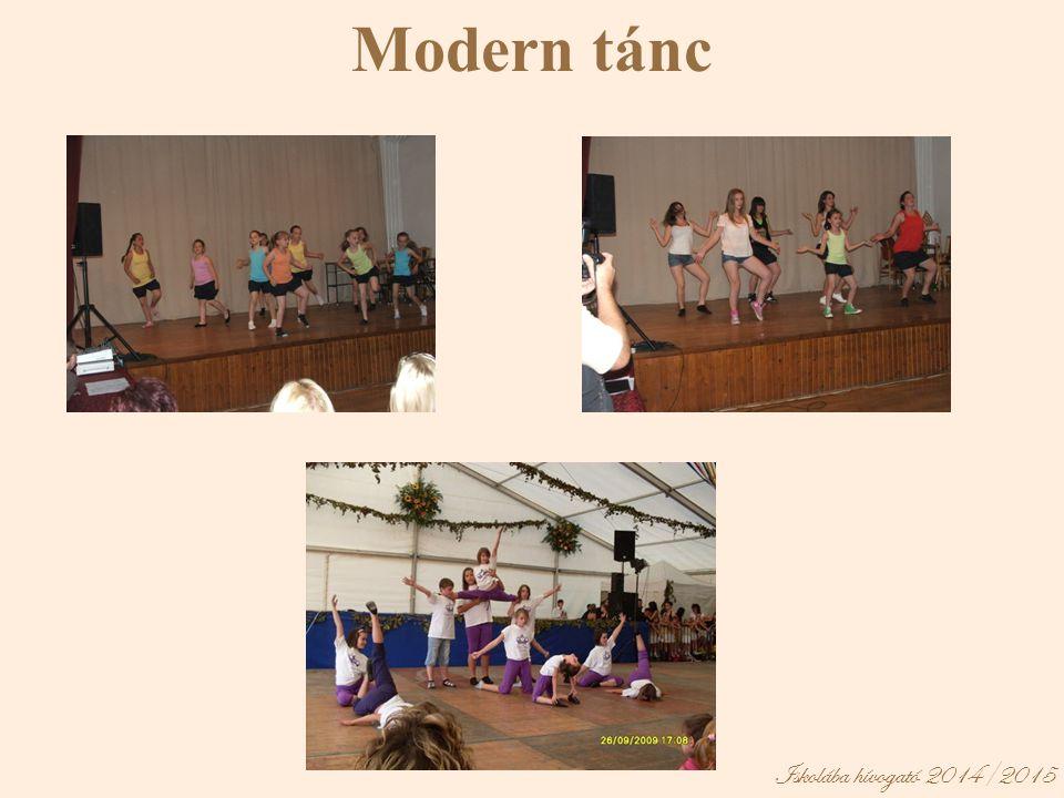 Modern tánc Iskolába hívogató 2014/2015