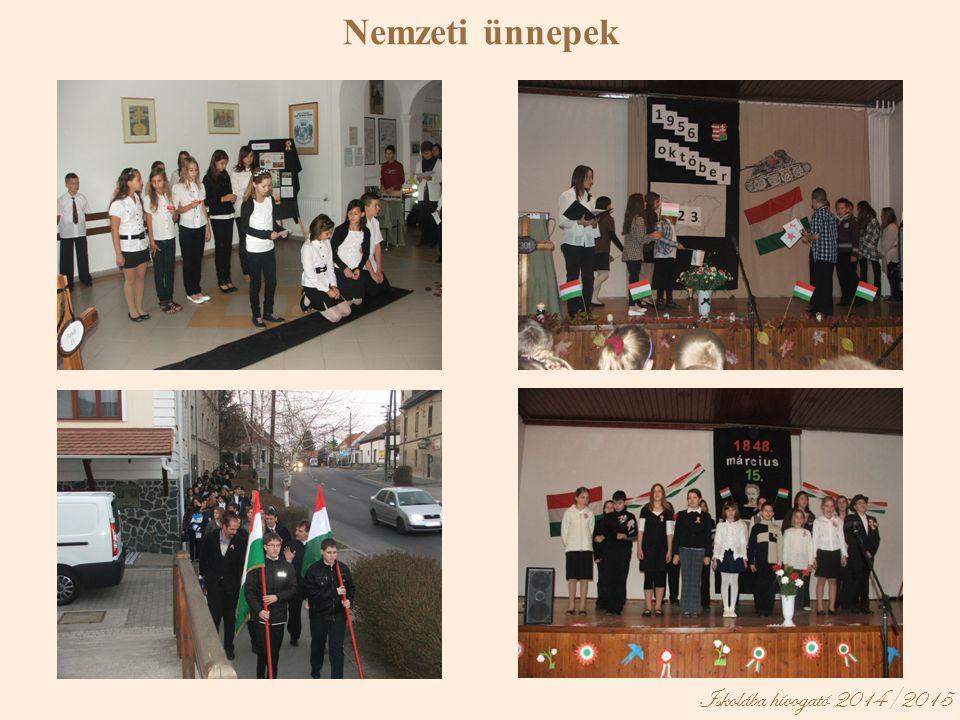 Nemzeti ünnepek Iskolába hívogató 2014/2015