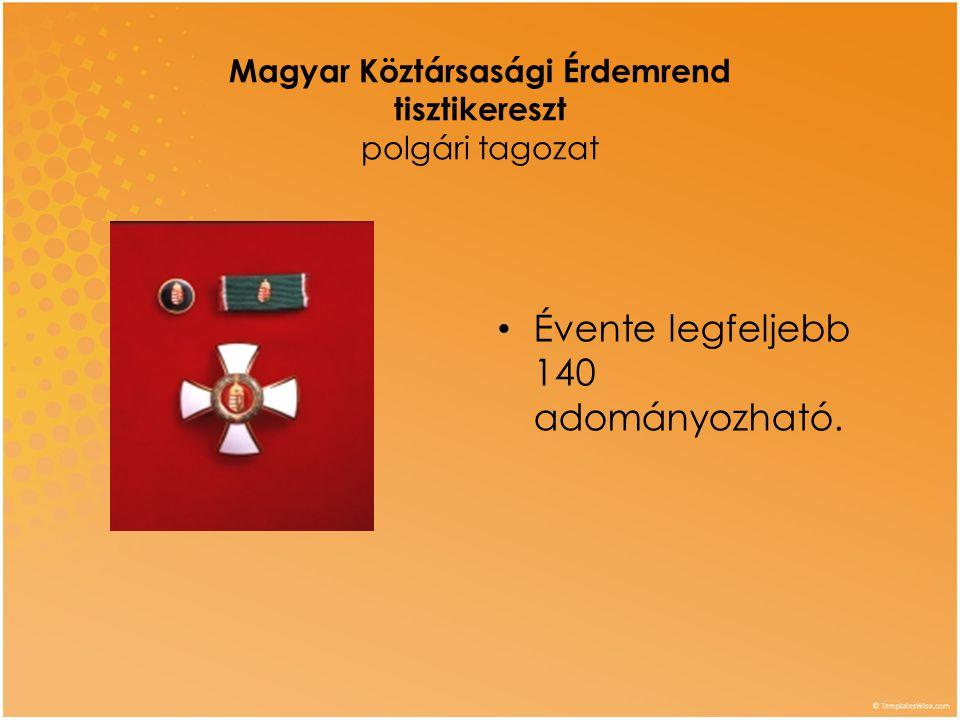 Magyar Köztársasági Érdemrend tisztikereszt polgári tagozat