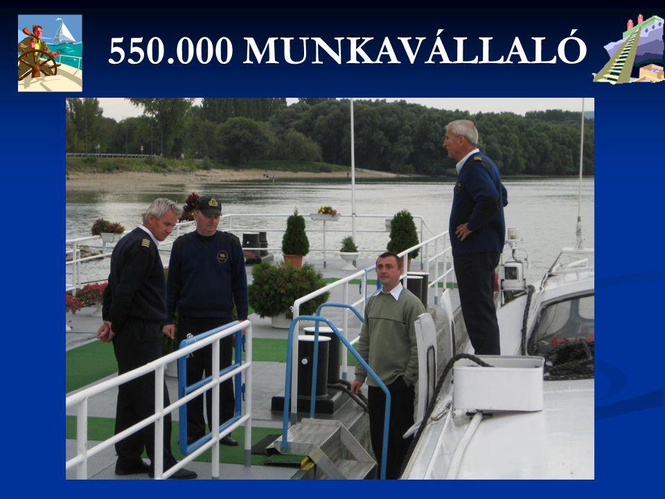 550.000 MUNKAVÁLLALÓ