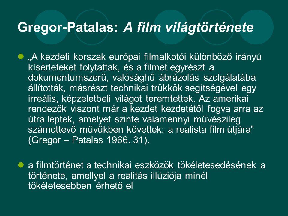 Gregor-Patalas: A film világtörténete
