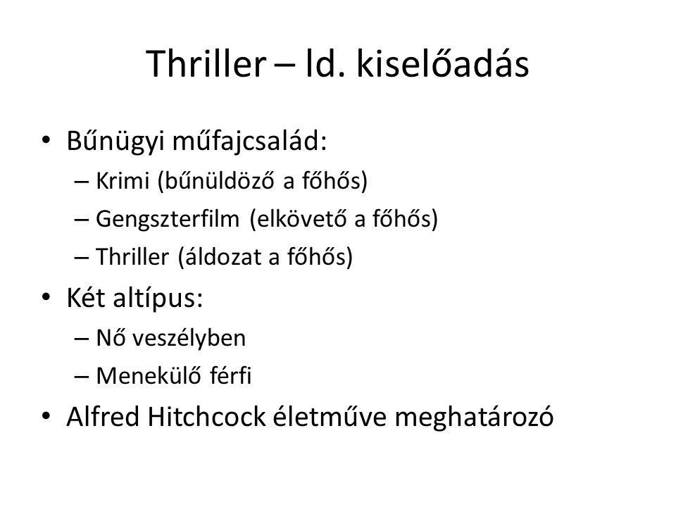 Thriller – ld. kiselőadás