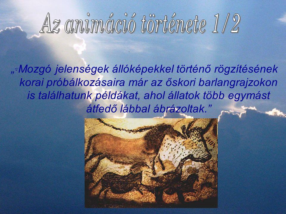 Az animáció története 1/2