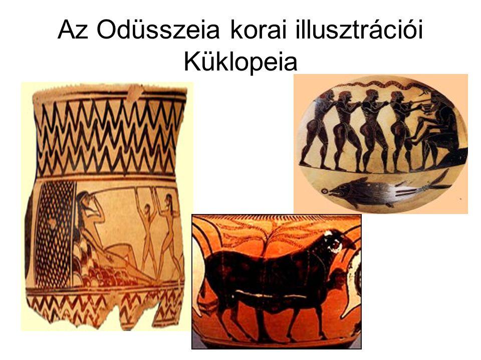 Az Odüsszeia korai illusztrációi Küklopeia