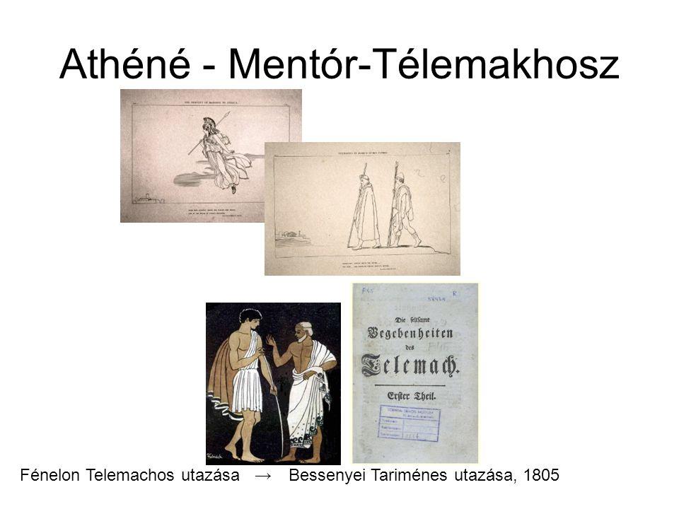 Athéné - Mentór-Télemakhosz