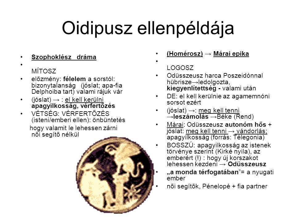 Oidipusz ellenpéldája