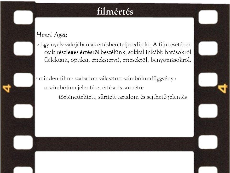 filmértés Henri Agel: