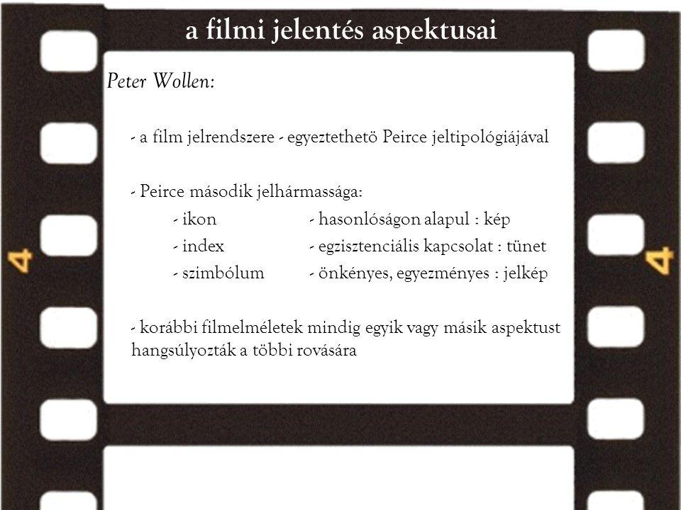 a filmi jelentés aspektusai