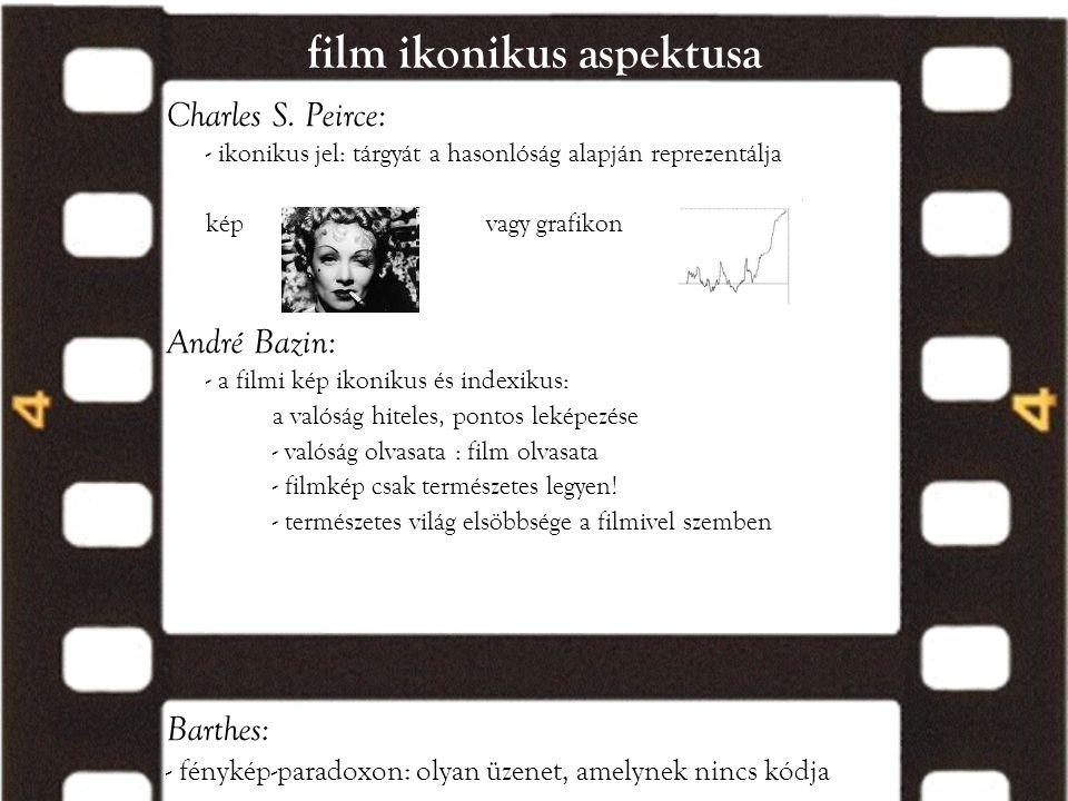 film ikonikus aspektusa