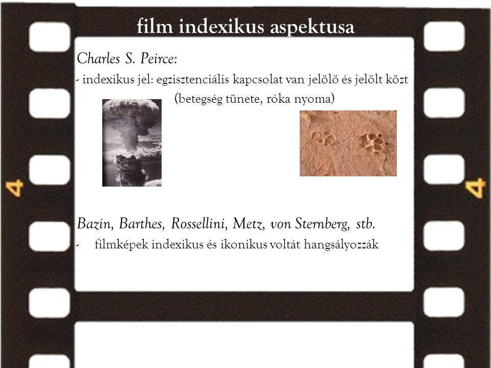 film indexikus aspektusa