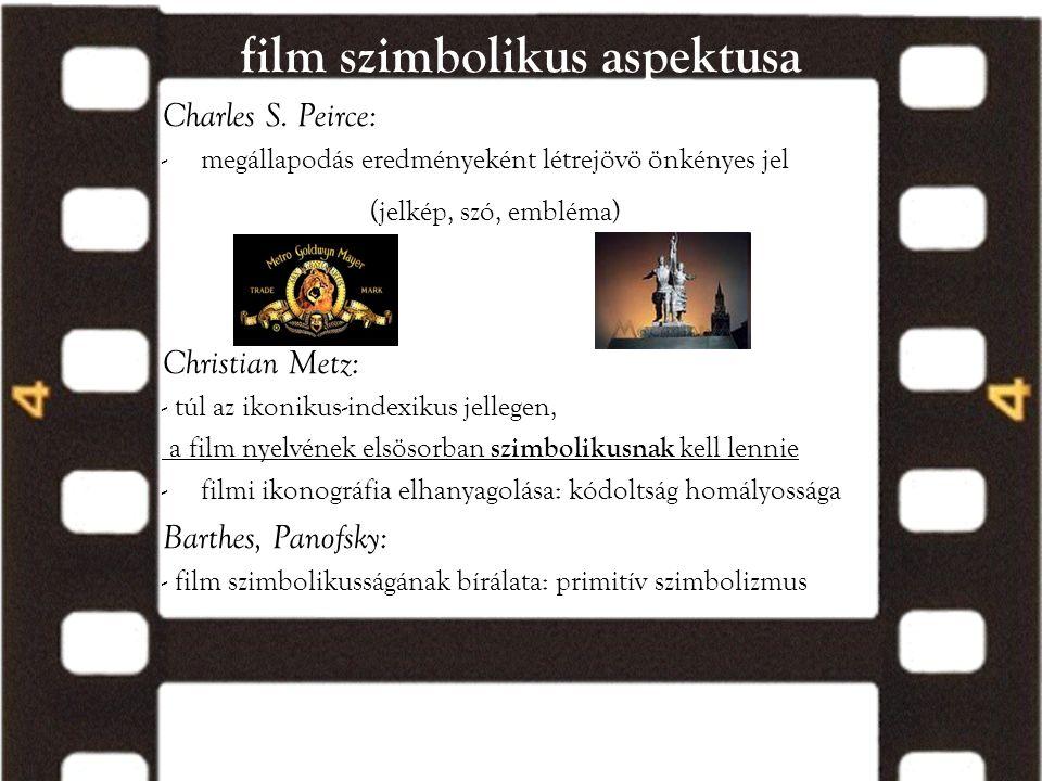 film szimbolikus aspektusa