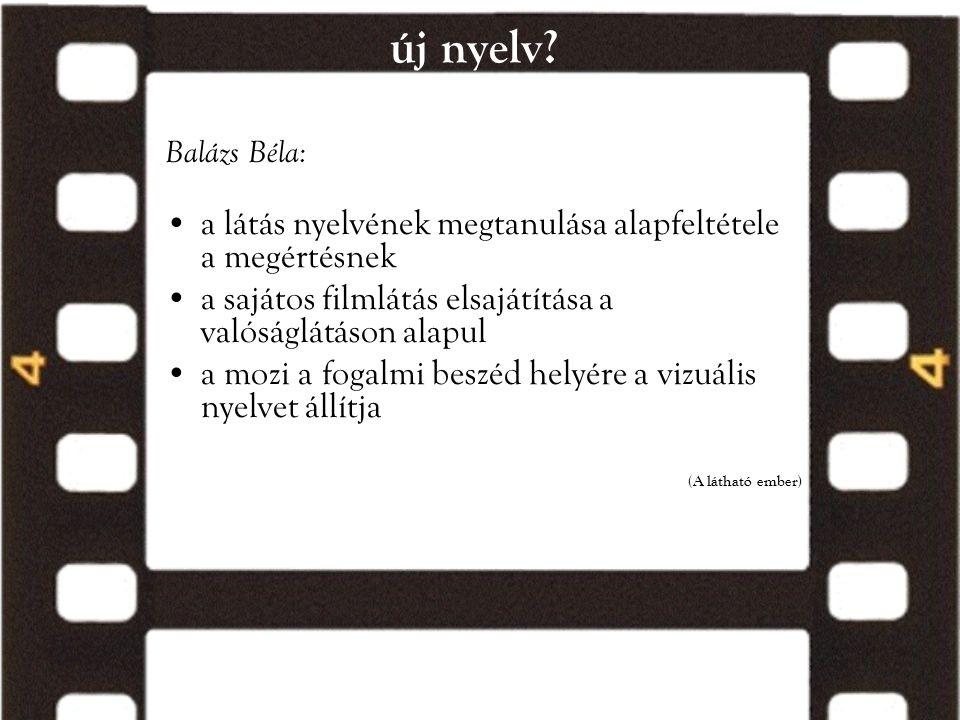 új nyelv a látás nyelvének megtanulása alapfeltétele a megértésnek