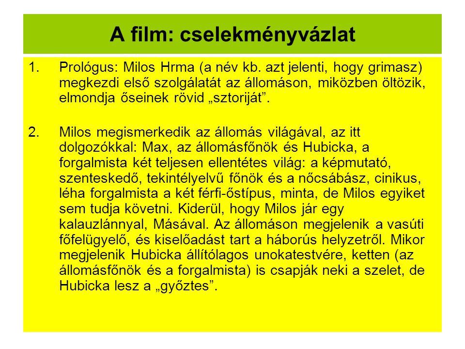 A film: cselekményvázlat
