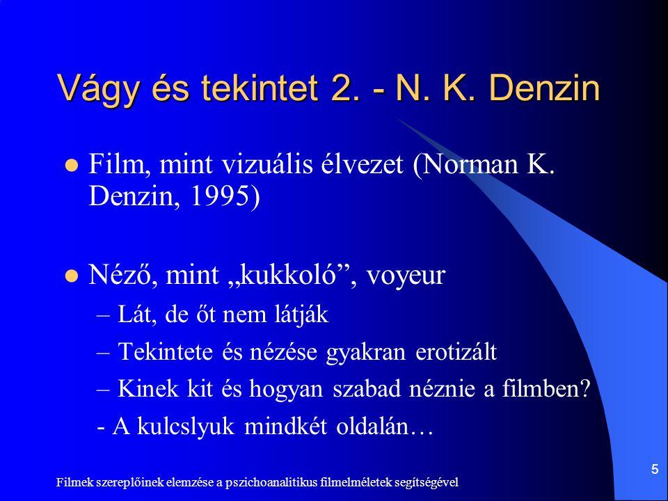 Vágy és tekintet 2. - N. K. Denzin