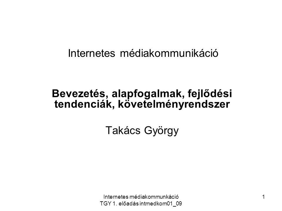 Internetes médiakommunikáció