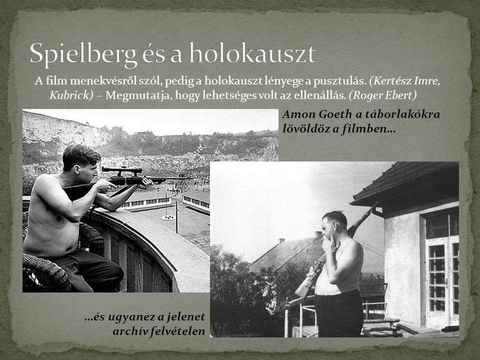 Spielberg és a holokauszt