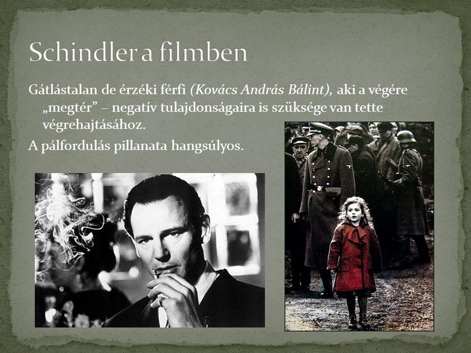 Schindler a filmben