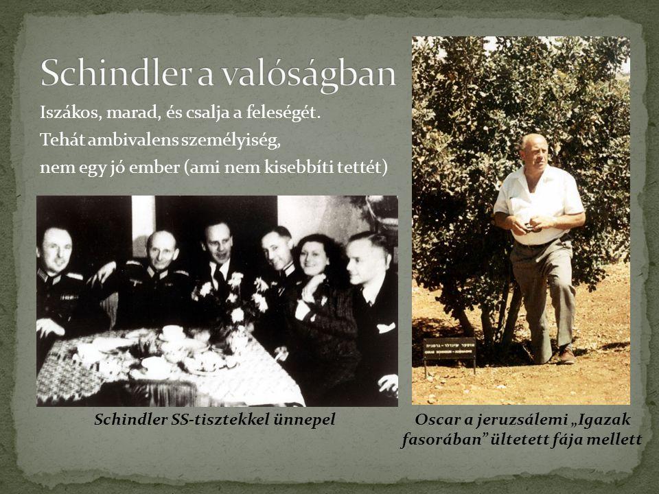 Schindler a valóságban