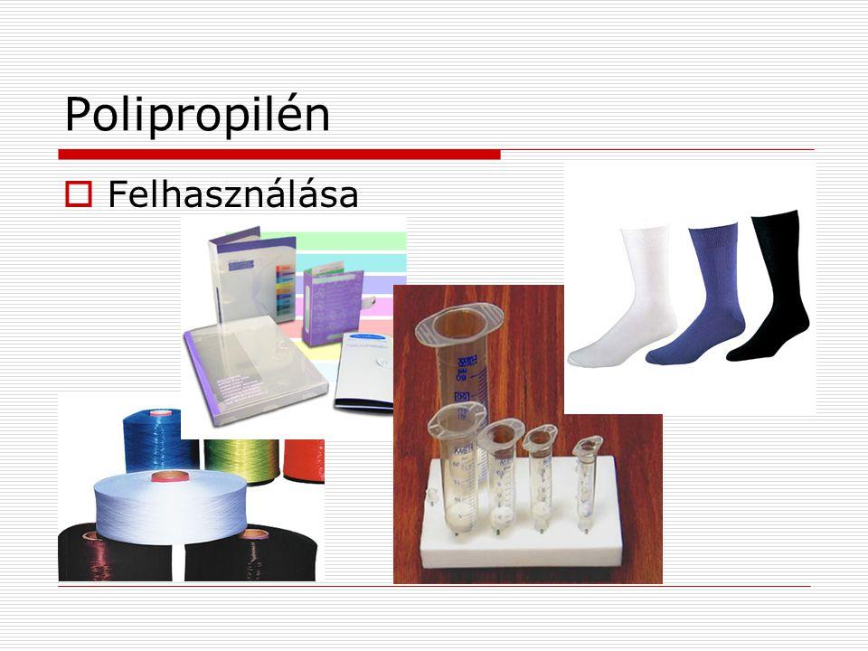 Polipropilén Felhasználása