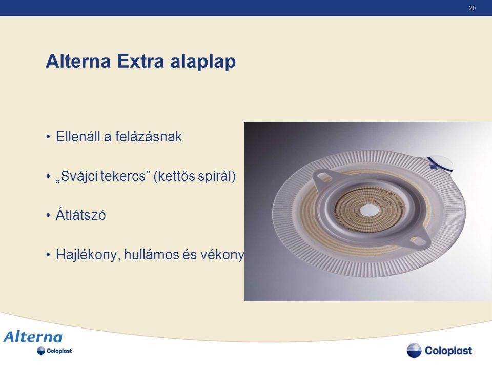 Alterna Extra alaplap Ellenáll a felázásnak