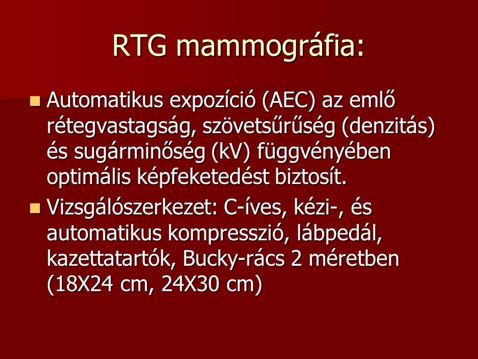 RTG mammográfia: