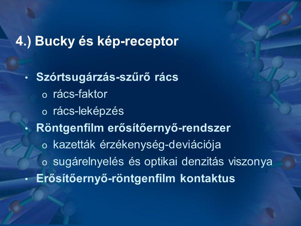 4.) Bucky és kép-receptor