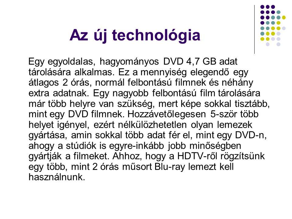 Az új technológia
