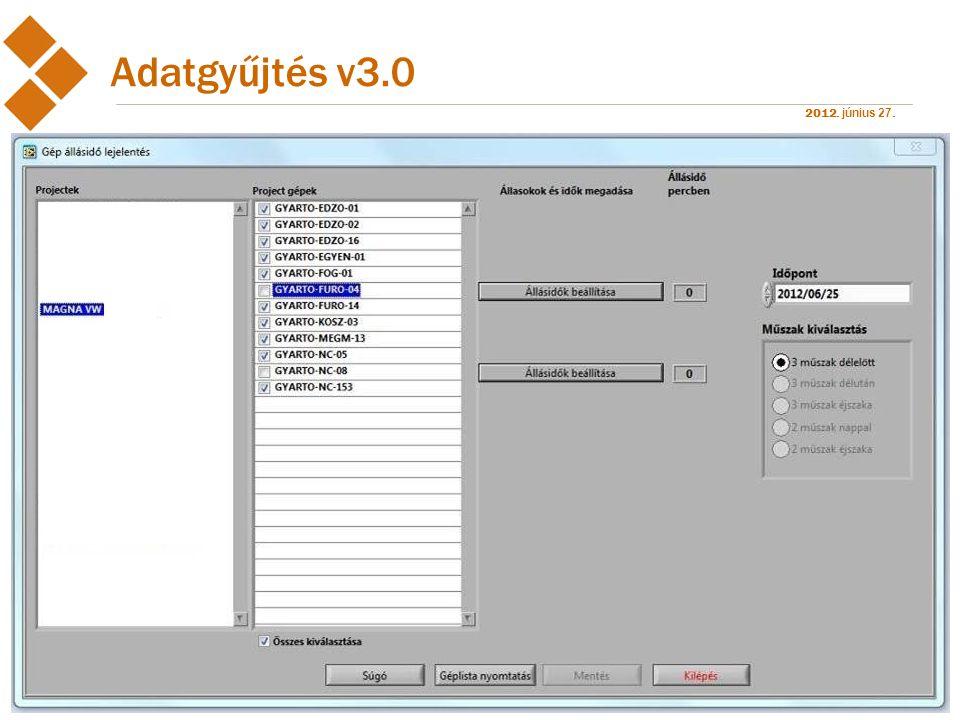 Adatgyűjtés v3.0