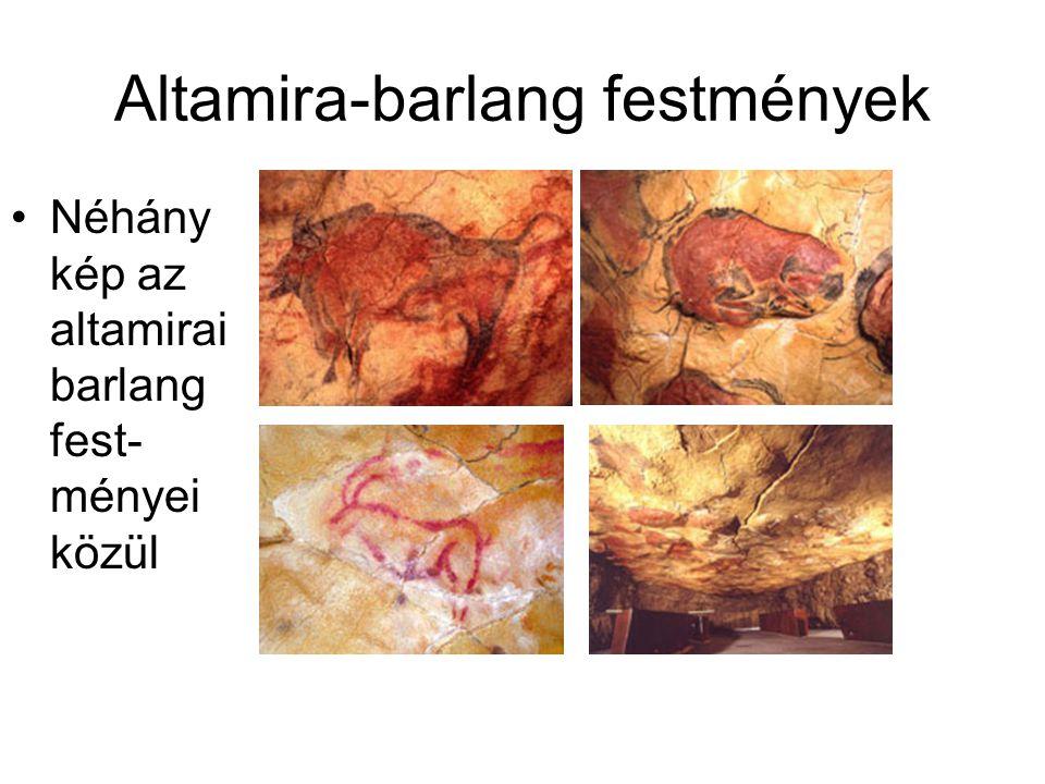 Altamira-barlang festmények