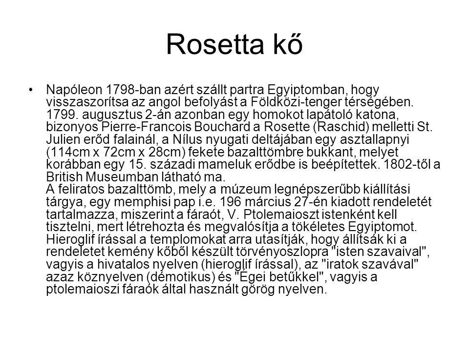 Rosetta kő