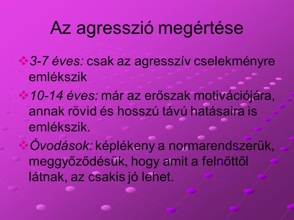 Az agresszió megértése