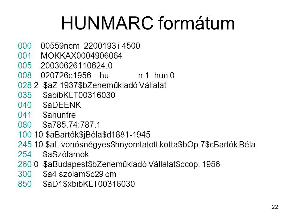 HUNMARC formátum 000 00559ncm 2200193 i 4500 001 MOKKAX0004906064