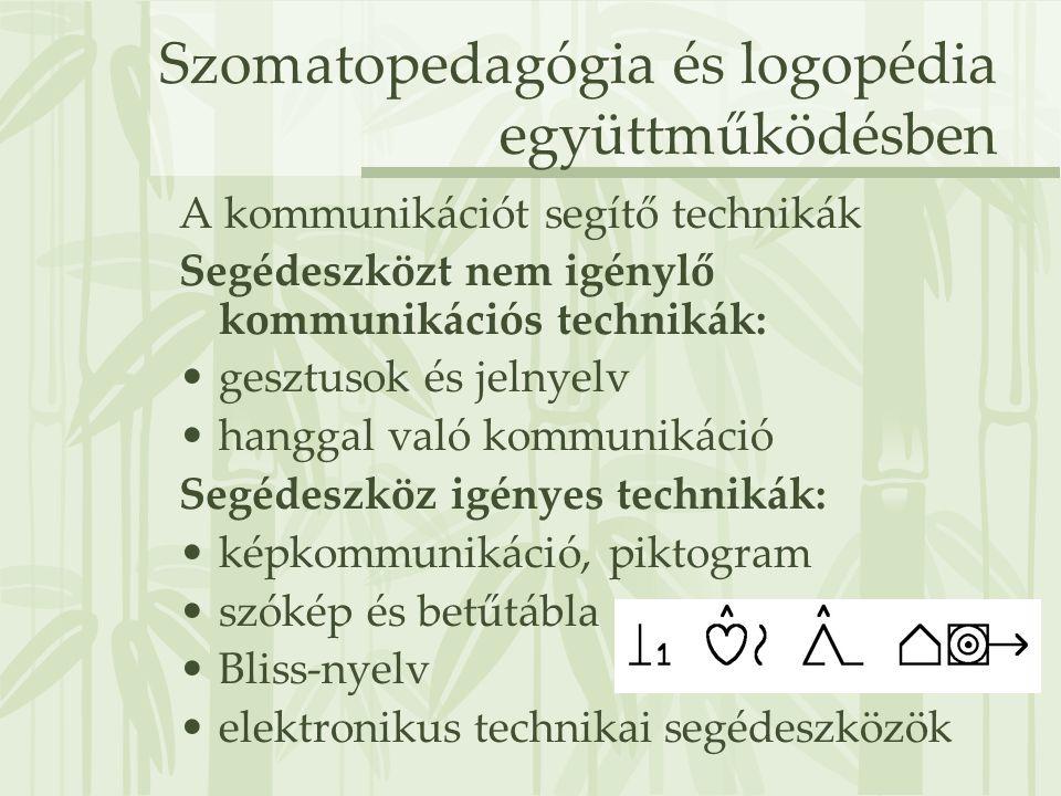 Szomatopedagógia és logopédia együttműködésben