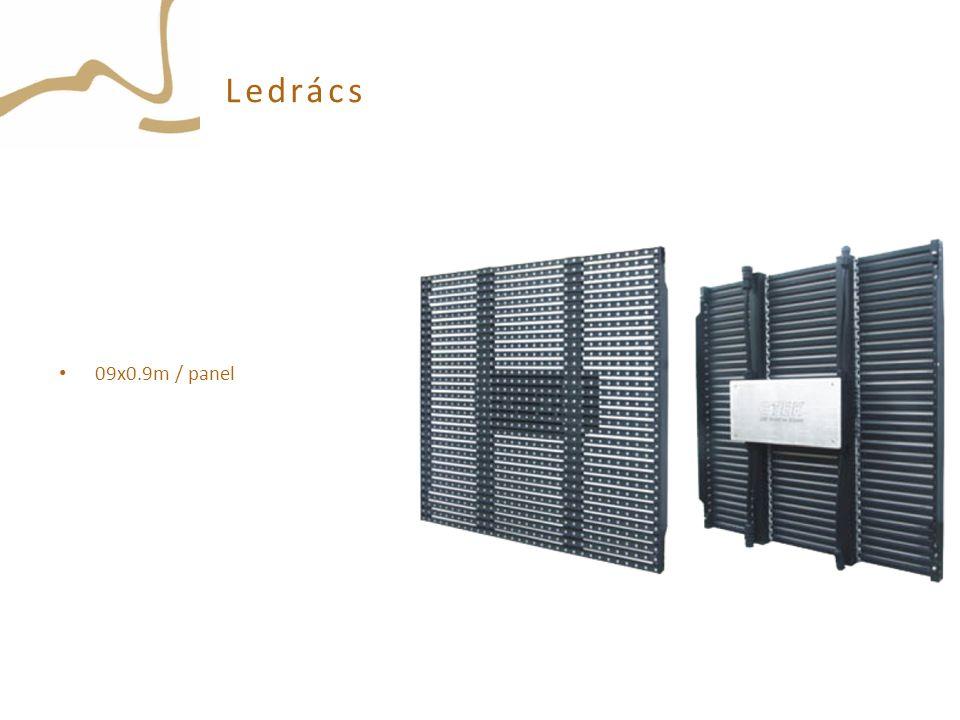 Ledrács 09x0.9m / panel