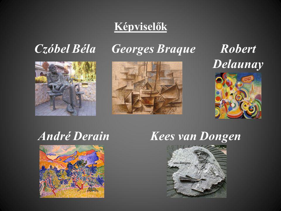 Czóbel Béla Georges Braque Robert Delaunay