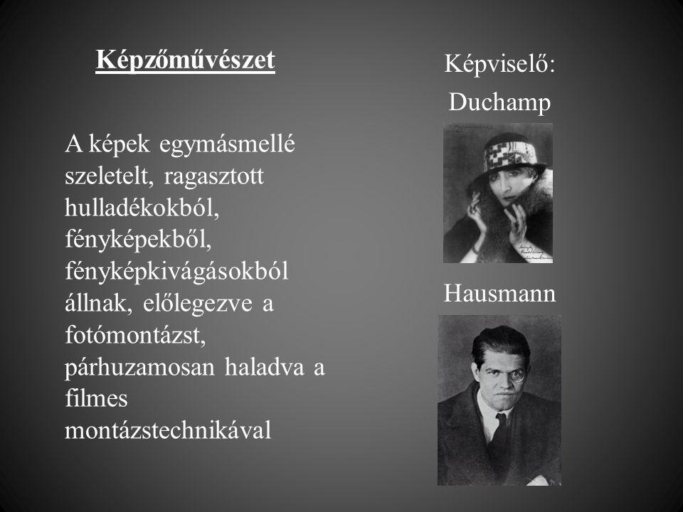 Képviselő: Duchamp Hausmann