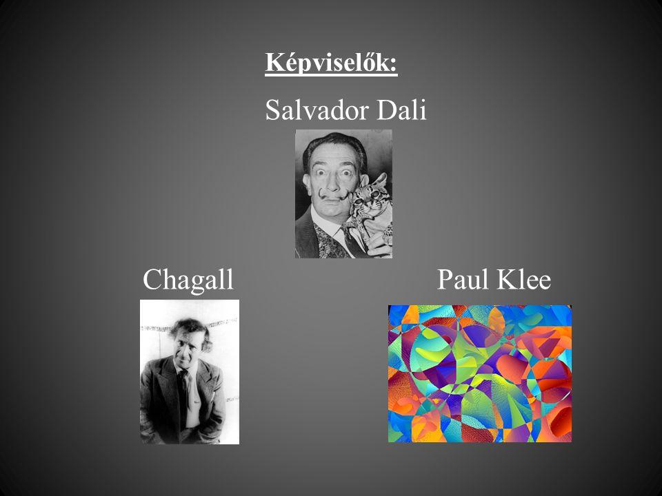 Salvador Dali Chagall Paul Klee