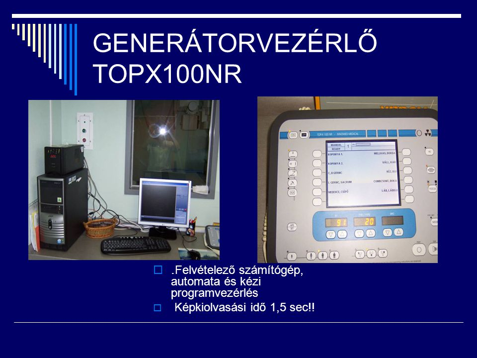 GENERÁTORVEZÉRLŐ TOPX100NR
