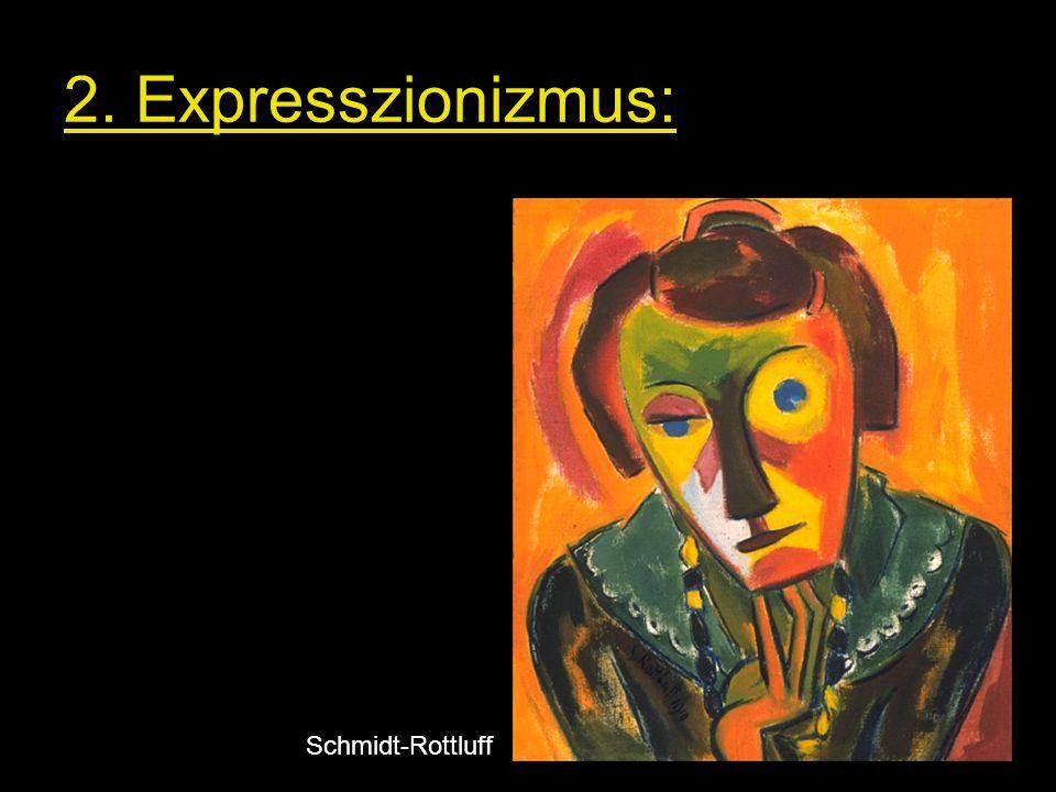2. Expresszionizmus: Schmidt-Rottluff