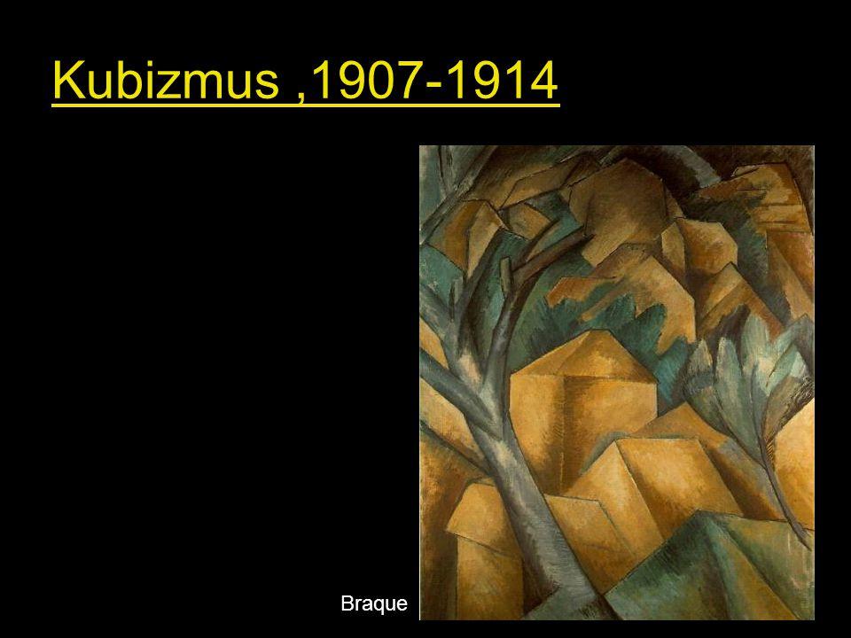 Kubizmus ,1907-1914 Braque