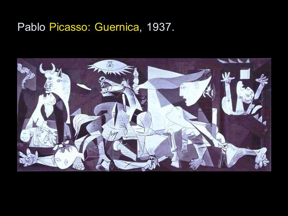 Pablo Picasso: Guernica, 1937.